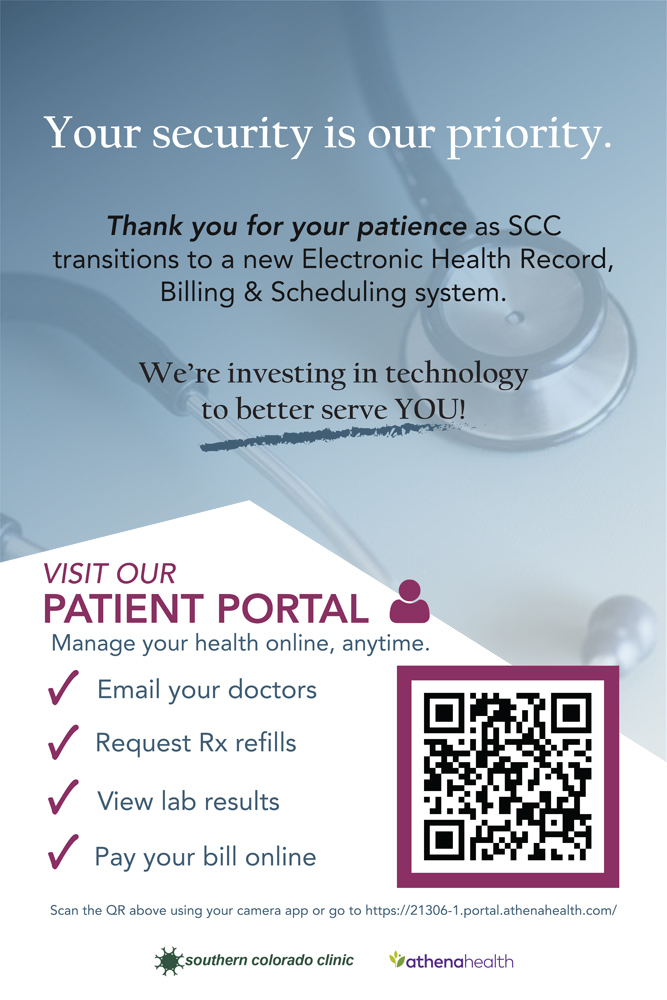 Southern Colorado Clinic Patient Portal Info